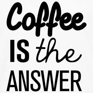 Coffee is the answer! - Männer Premium Langarmshirt