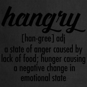 Hangry  Definition T-skjorter - Kokkeforkle