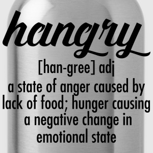 Hangry  Definition Tee shirts - Gourde