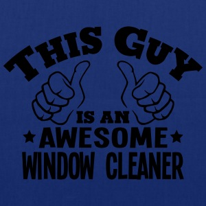 this guy is an awesome window cleaner - Tote Bag