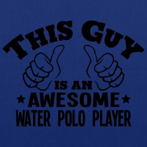 this guy is an awesome water polo player - Tote Bag