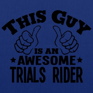 this guy is an awesome trials rider - Tote Bag