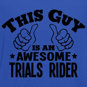 this guy is an awesome trials rider - Women's Tank Top by Bella