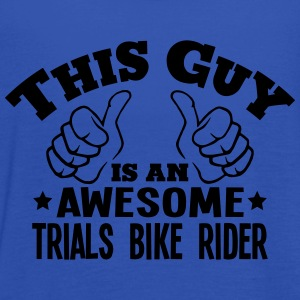 this guy is an awesome trials bike rider - Women's Tank Top by Bella