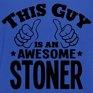 this guy is an awesome stoner - Women's Tank Top by Bella