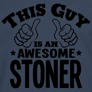 this guy is an awesome stoner - Men's Premium Longsleeve Shirt