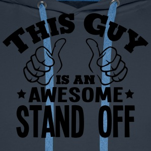 this guy is an awesome stand off - Men's Premium Hoodie