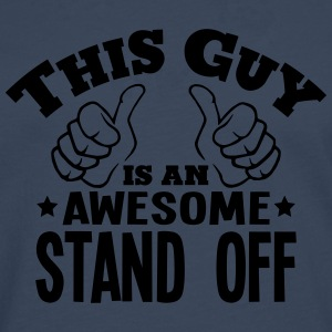 this guy is an awesome stand off - Men's Premium Longsleeve Shirt