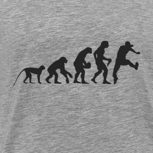 Evolution running Hoodies & Sweatshirts - Men's Premium T-Shirt