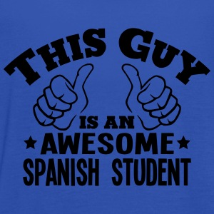 this guy is an awesome spanish student - Women's Tank Top by Bella