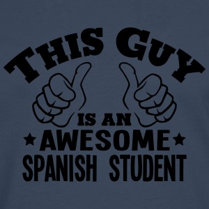 this guy is an awesome spanish student - Men's Premium Longsleeve Shirt