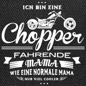 Mama mit Chopper  Pullover & Hoodies - Snapback Cap