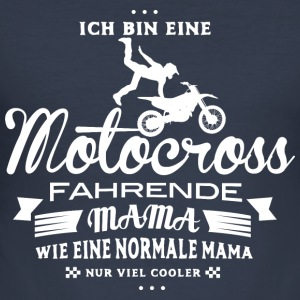 Motocross Mama Pullover & Hoodies - Männer Slim Fit T-Shirt