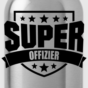 Super Offizier T-Shirts - Trinkflasche