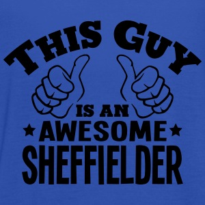 this guy is an awesome sheffielder - Women's Tank Top by Bella