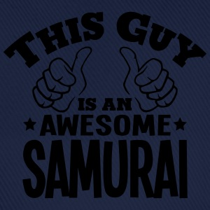 this guy is an awesome samurai - Baseball Cap