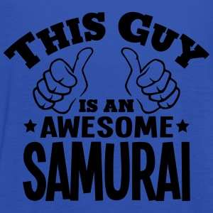 this guy is an awesome samurai - Women's Tank Top by Bella