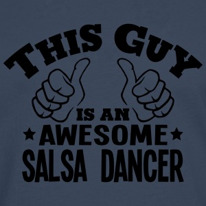 this guy is an awesome salsa dancer - Men's Premium Longsleeve Shirt