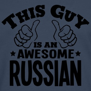 this guy is an awesome russian - Men's Premium Longsleeve Shirt