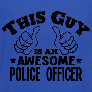 this guy is an awesome police officer - Women's Tank Top by Bella