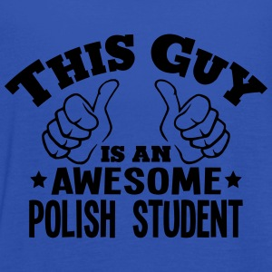 this guy is an awesome polish student - Women's Tank Top by Bella