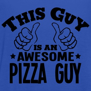 this guy is an awesome pizza guy - Women's Tank Top by Bella