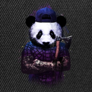 woods panda Sweat-shirts - Casquette snapback