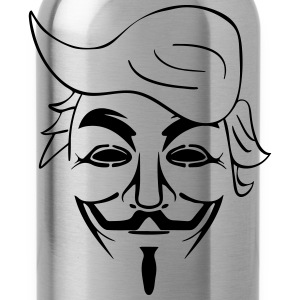 ANONYMOUS TRUMP T-Shirts - Trinkflasche