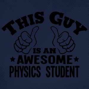 this guy is an awesome physics student - Baseball Cap