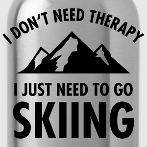 Therapy - Skiing T-Shirts - Water Bottle