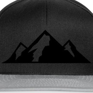 Mountain Icon T-skjorter - Snapback-caps