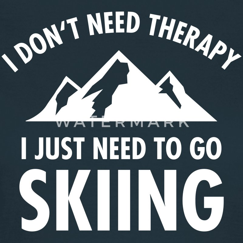 Therapy - Skiing T-shirts - Dame-T-shirt