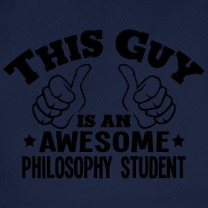 this guy is an awesome philosophy studen - Baseball Cap