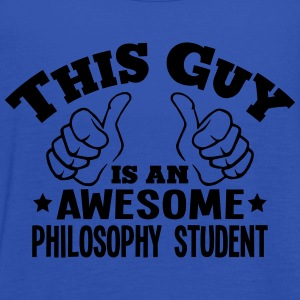 this guy is an awesome philosophy studen - Women's Tank Top by Bella