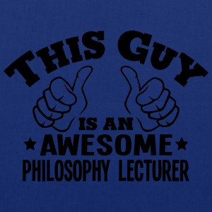this guy is an awesome philosophy lectur - Tote Bag