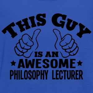 this guy is an awesome philosophy lectur - Women's Tank Top by Bella