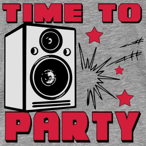 Time To Party Pullover & Hoodies - Männer Premium T-Shirt