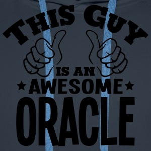 this guy is an awesome oracle - Men's Premium Hoodie