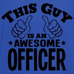 this guy is an awesome officer - Women's Tank Top by Bella