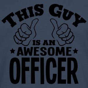 this guy is an awesome officer - Men's Premium Longsleeve Shirt