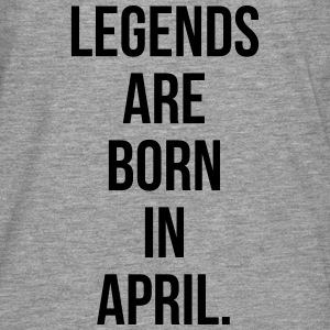 Legends are born in April Sweat-shirts - T-shirt manches longues Premium Homme