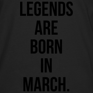 Legends are born in march Sweat-shirts - T-shirt manches longues Premium Homme