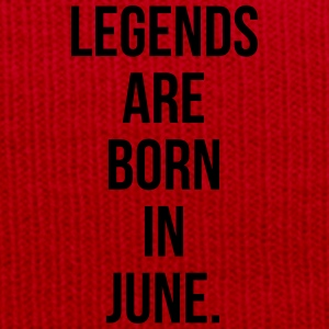 Legends are born in June T-shirts - Wintermuts