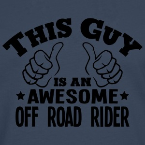 this guy is an awesome off road rider - Men's Premium Longsleeve Shirt