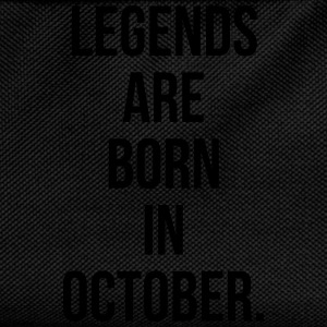 Legends are born in october Sweaters - Rugzak voor kinderen