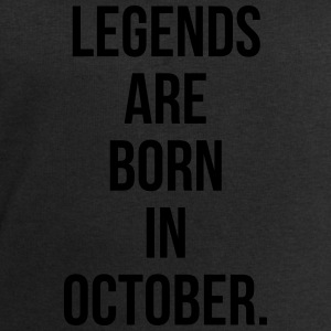 Legends are born in october Tee shirts - Sweat-shirt Homme Stanley & Stella
