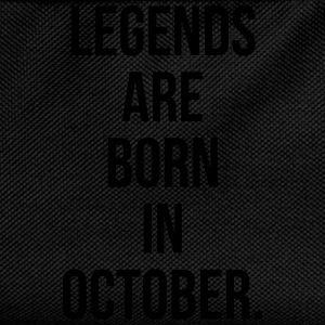 Legends are born in october Tee shirts - Sac à dos Enfant