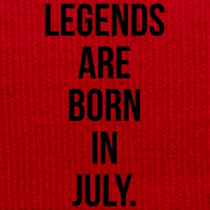 Legends are born in july T-shirts - Wintermuts