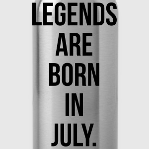 Legends are born in july T-Shirts - Water Bottle