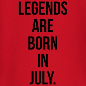 Legends are born in july T-shirts - T-shirt